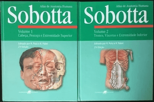 Atlas de Anatomia Humana (Sobotta) - 21. ed. vols. 1 e 2 PDF